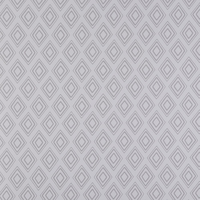 Wallpaper - Fresco Wallpaper Diamonds Patterned Stone Grey
