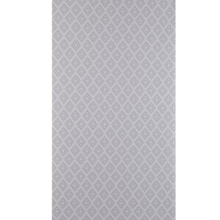 Fresco Wallpaper Diamonds Patterned Stone Grey