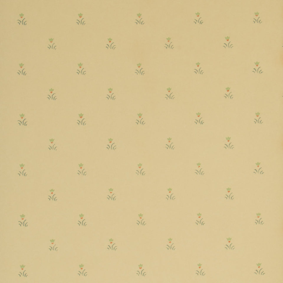 Hill & Knowles Stencil Kent Flower Wallpaper Full Roll