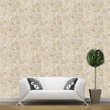 Wallpaper Roll - Floral Flowers - Botanical Green Beige Brown - 407831 - SAMPLE