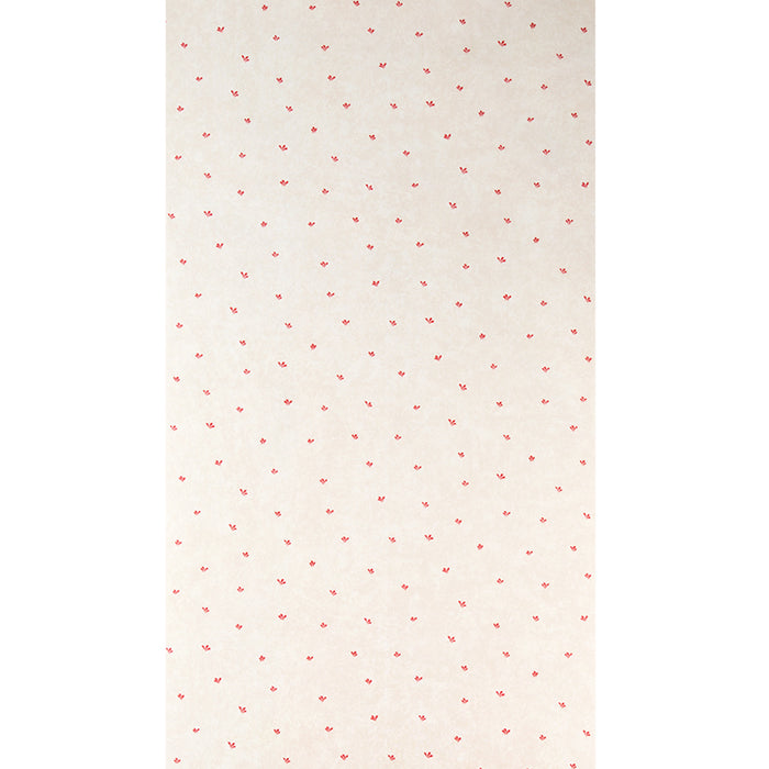 Galerie Paste The Wall Patterned Cream & Red Wallpaper