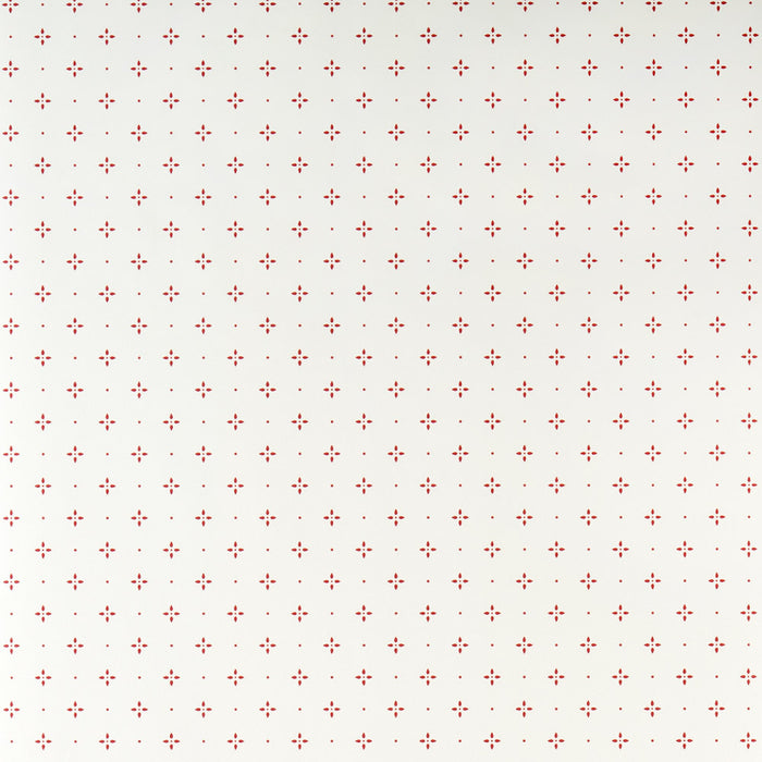 Galerie Feature Bedroom Pattern Wallpaper Straight Match Cream/Red G12194 Sample