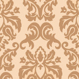 Wallpaper - Designer Wallpaper Damask Cream/Gold
