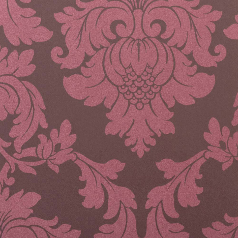 Wallpaper - Regency Wallpaper Regency Damask Plum