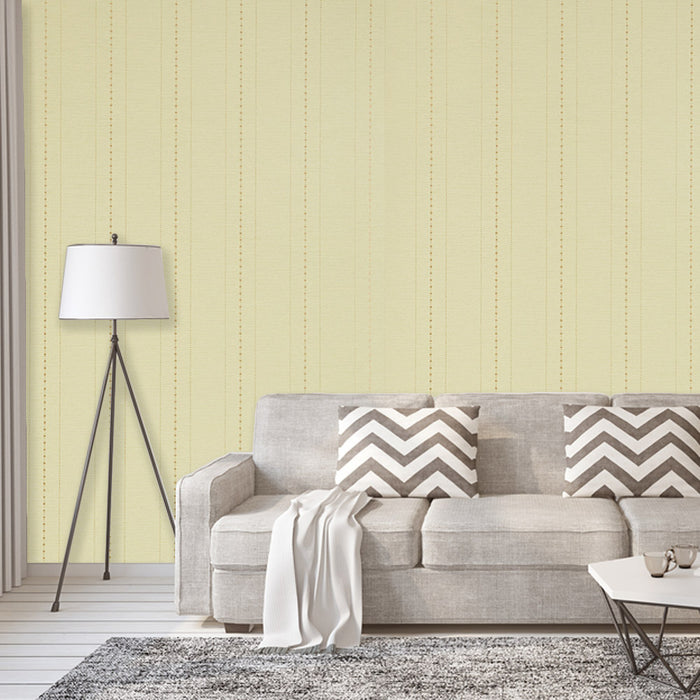 Harlequin Wallpaper Striped Green Gold