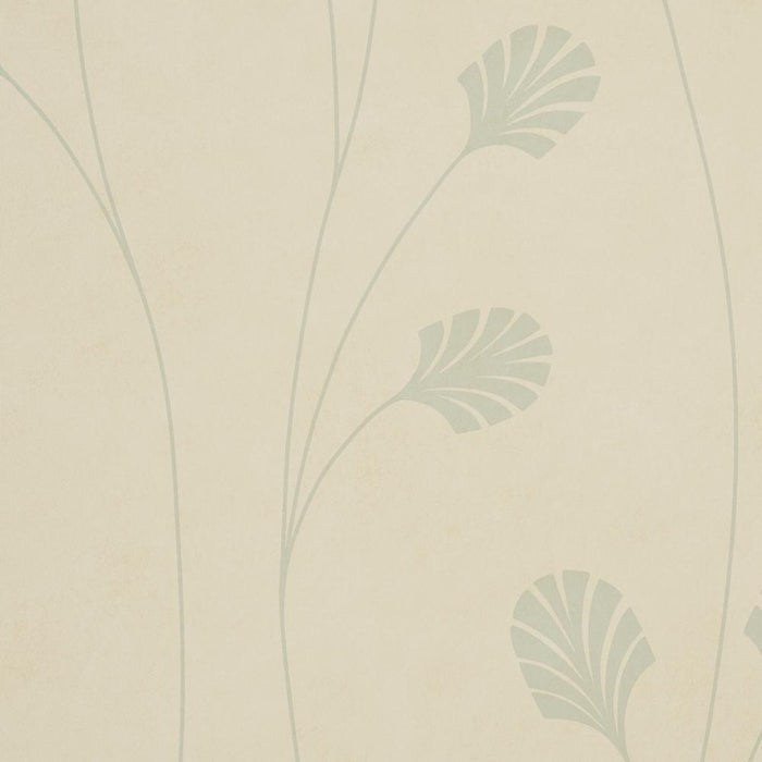Harlequin Wallpaper Makeda Nia Cream & Blue