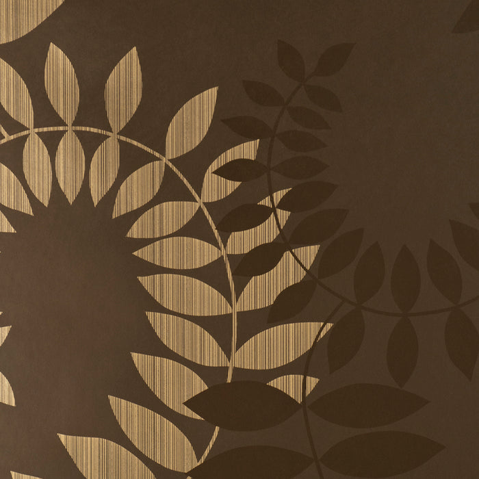Harlequin Wallpaper Virtue Distinction Brown