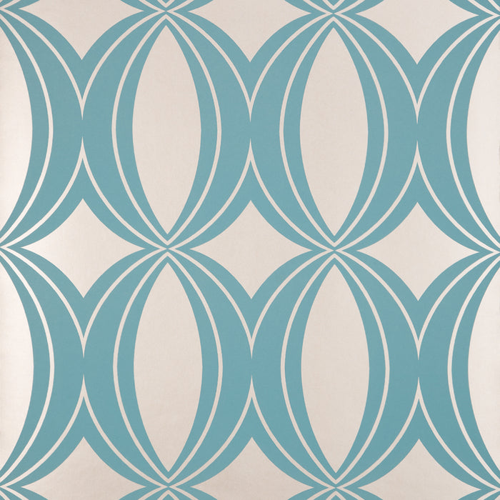 Harlequin Wallpaper Roll - Indulgence Verve - Blue Gold - 15784 - SAMPLE