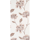 Superfresco Wallpaper Floral Brown / Cream