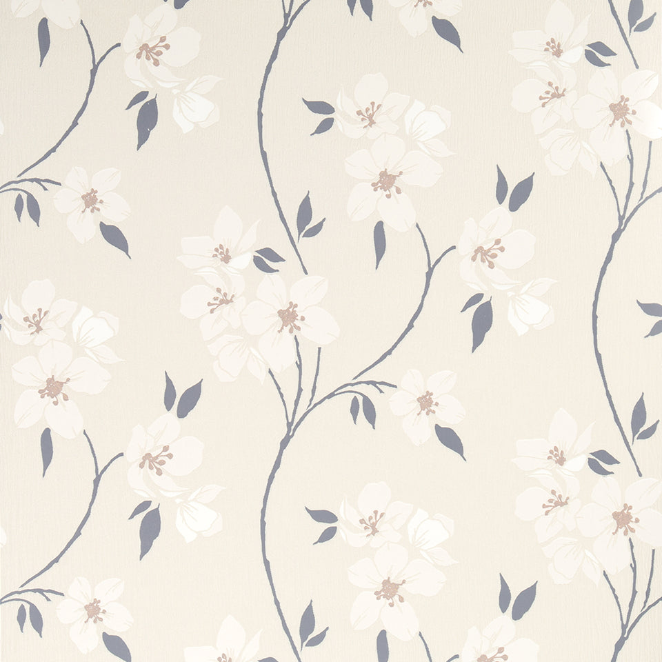 Wallpaper - Graham & Brown Wallpaper Floral White