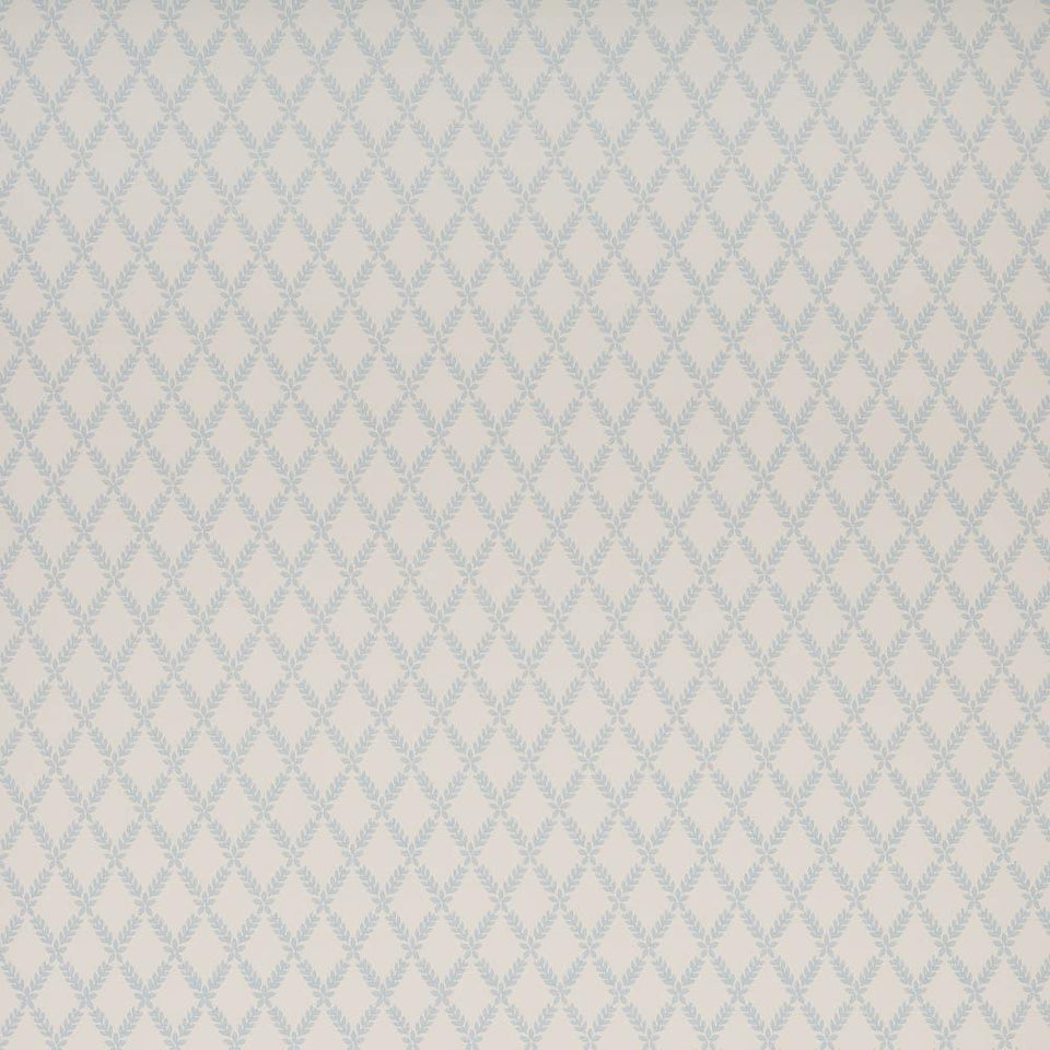 Sanderson Laurel Trellis Patterned Wallpaper