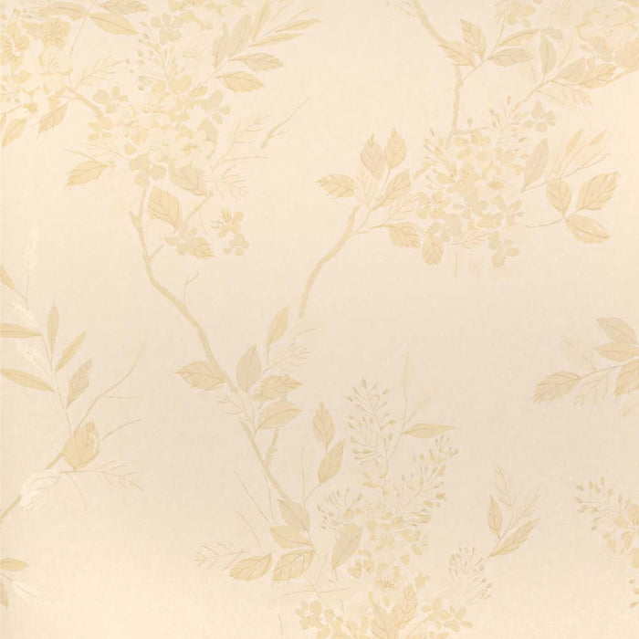 Harlequin Wallpaper Roll - Floral Feature Flat - Amaranta Cream -75715 - SAMPLE