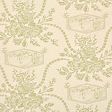 Wallpaper - Sanderson Wallpaper Vignette Cream & Green