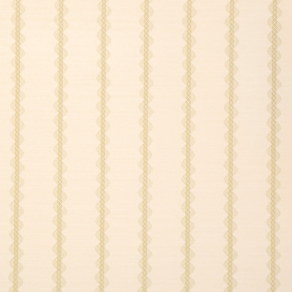 Sanderson Wallpaper Roll - Striped Flat - Bethany - Cream - DHONBE103 - SAMPLE