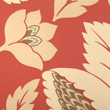 Sanderson Wallpaper Aerial Red & Cream