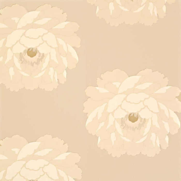 Sanderson Floral Wallpaper - Cream/Beige - Leora - DAMPLE102 - SAMPLE