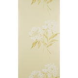 Designer Wallpaper Roll - Floral Flat - Ophelia Ivory & White - ED226 - SAMPLE