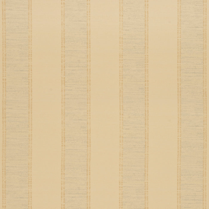 Zoffany Small Silk Stripe Cream & Blue Wallpaper