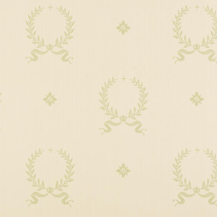 Wallpaper - Designer Zoffany Garland Cream Wallpaper