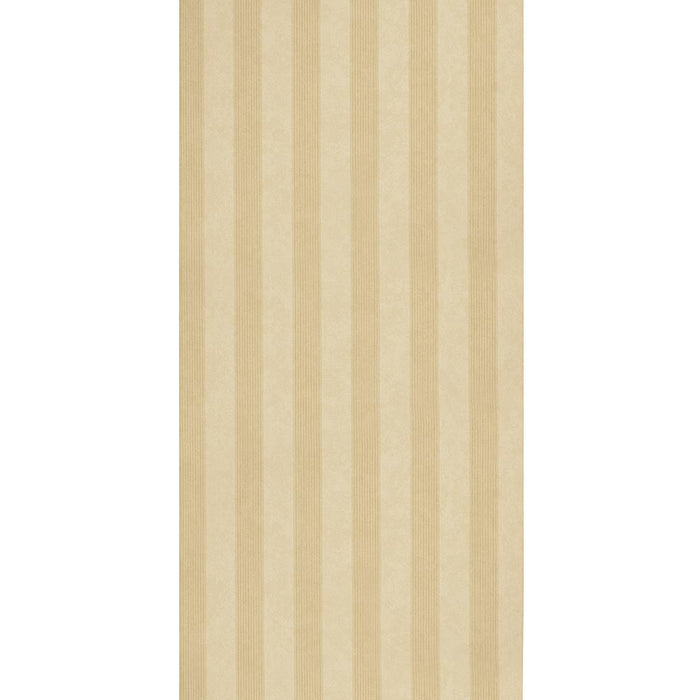 Zoffany Vinyl Wallpaper - Empire Stripe - Beige & Cream - V65104 - SAMPLE
