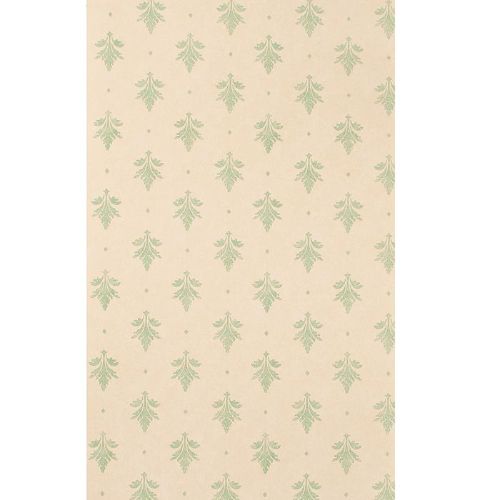 Zoffany Designer Empire Leaf Cream Wallpaper