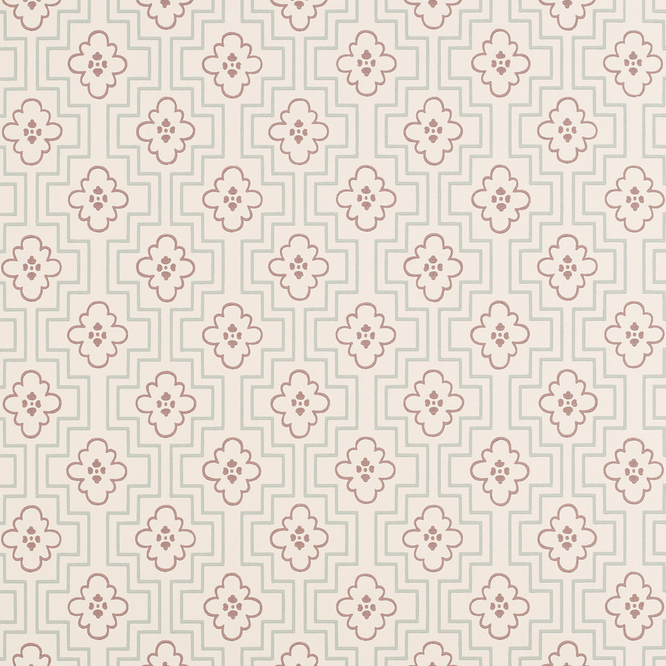 Zoffany Wallpaper Roll - Patterned Flat - Maze - ZCHA02005 - SAMPLE