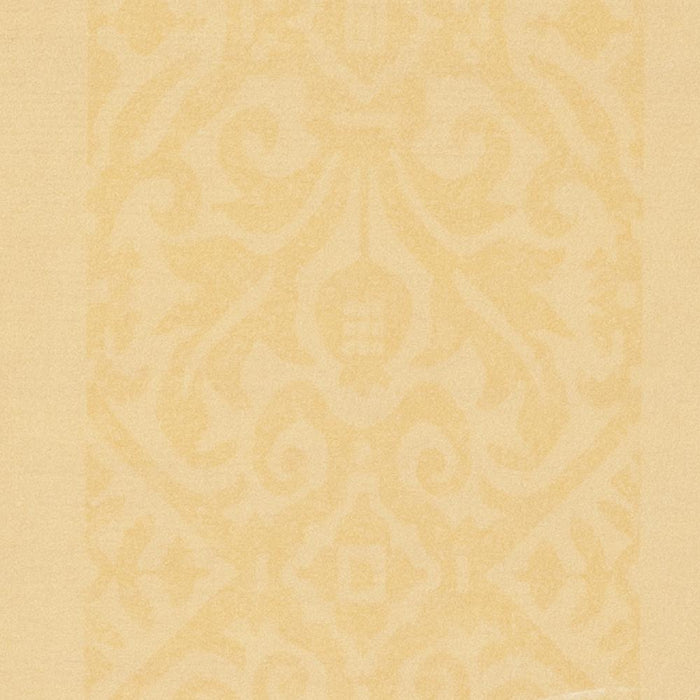 Zoffany Striped Silk Yellow Wallpaper