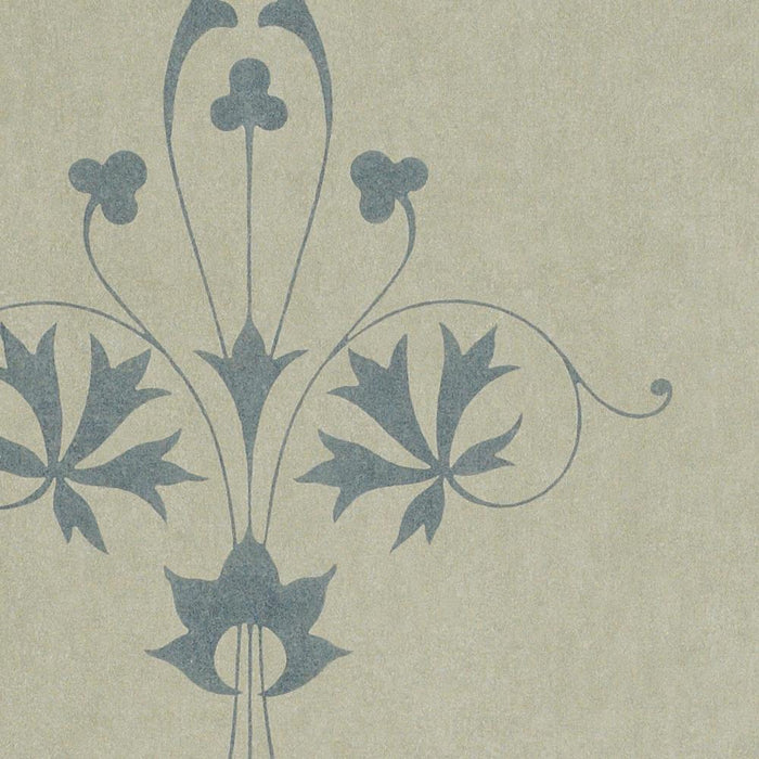 Zoffany Vinyl Wallpaper - Trefoil - ACV01003