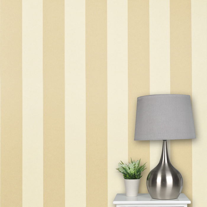 Regents Park Chatsworth Collection Beige  Wallpaper