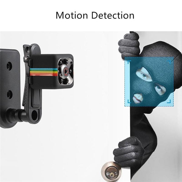 Night Vision + Motion Detection + HD 1080 Recording + Very Small