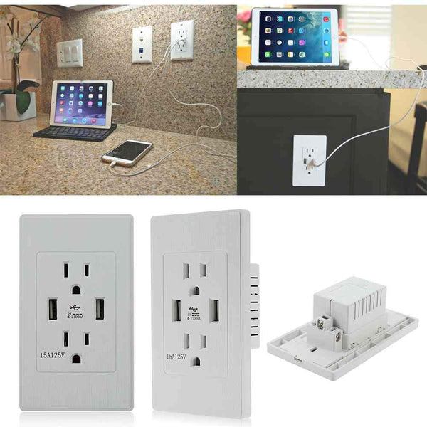 USB + Wall Socket Gives You The Ease And Functionality You Want