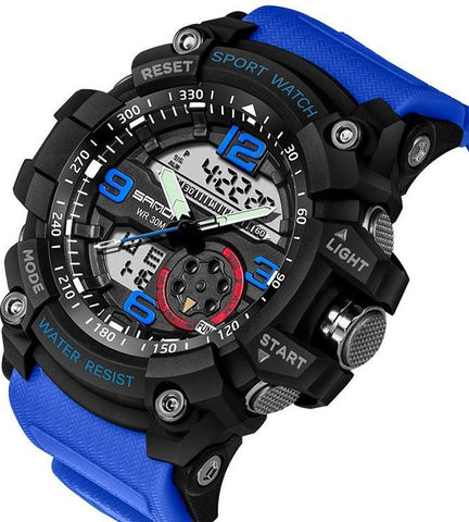 Best Military-Sports Watch With Advanced LED+Quartz Technology & Loaded With The Functions You Need