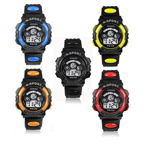Waterproof Military - Sports - Tactical LED Digital Watch Loaded With Function And Style