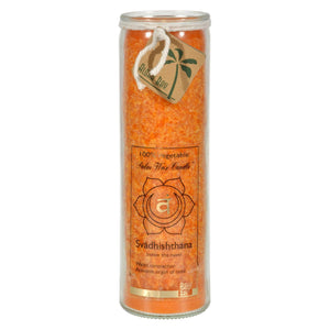 Aloha Bay - Unscented Chakra Jar Love Svadhishthana Orange - 1 Candle