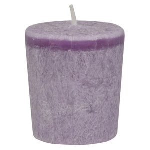Aloha Bay - Votive Eco Palm Wax Candle - Lavender Hills - Case Of 12 - 2 Oz