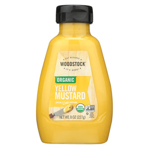 Woodstock Organic Mustard - Yellow - 8 Oz.