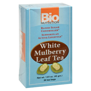 Bio Nutrition - Tea - White Mulberry - 30 Bags