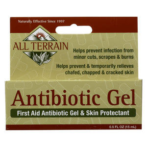 All Terrain - Antibiotic Gel - .5 Fl Oz.