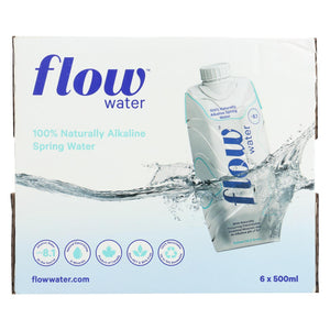 Flow Spring Water - Natural Alkaline - Case Of 6 - 500 Ml
