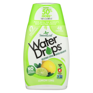 Sweet Leaf Water Drops - Lemon Lime - 1.62 Fl Oz