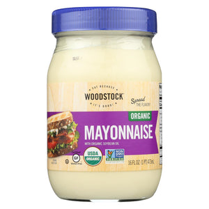 Woodstock Organic Mayonnaise - 16 Oz.