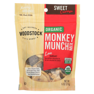 Woodstock Organic Monkey Munch Snack Mix - 6 Oz.