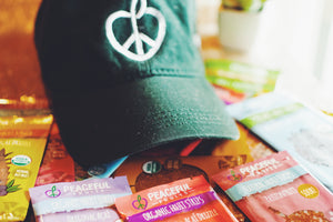 Peaceful Fruits Baseball Cap