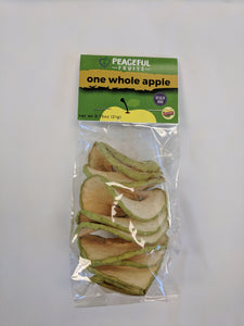 Dried Whole Apple Chip Spirals (20 individually packaged apples)