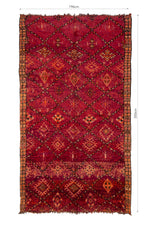 Load image into Gallery viewer, KHADIJA vintage moroccan rug