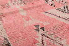 Load image into Gallery viewer, Sweet Rose Moroccan Vintage Rug