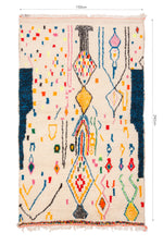 Load image into Gallery viewer, Morrocan Beni Ourain Rug