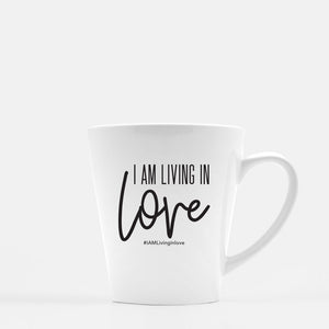 I AM Living In Love Latte Mug
