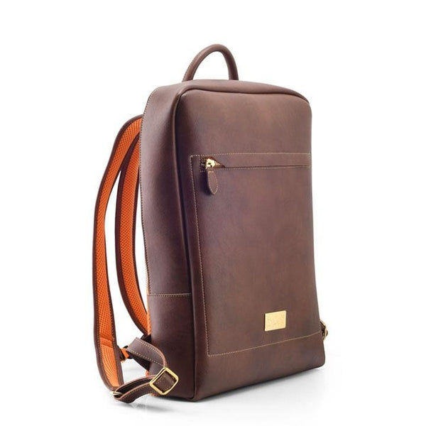 Arezzo - Brown Vegan Leather Backpack - Vogue x Virtue - NOAH Italian Shoes