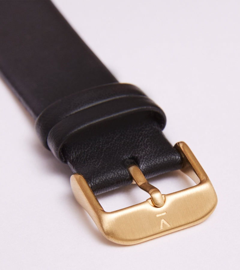 Black & Gold - Classic Collection Vegan Leather - Vogue x Virtue - Votch